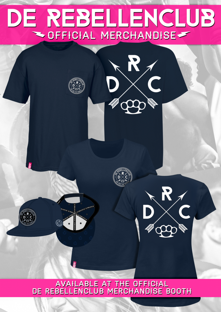 Official De Rebellenclub Merchandise